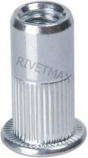 Заклепка резьбовая с плоским бортом М6 L18,5