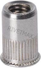 Заклепка резьбовая с уменьшенным бортом М8 L15,5 нержавеющая