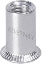 Заклепка резьбовая с потайным бортом М4 L11,0 алюминиевая